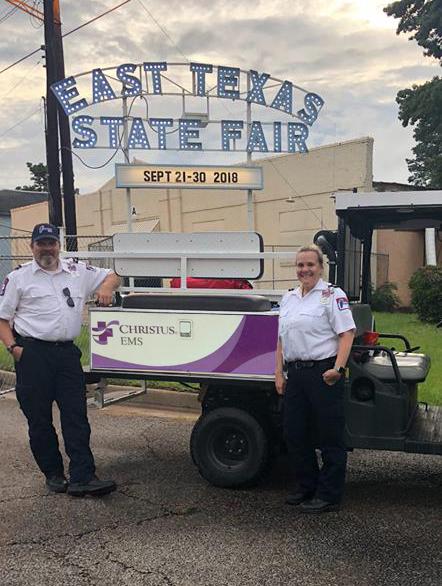 Crew & RTV @ East Texas State Fair